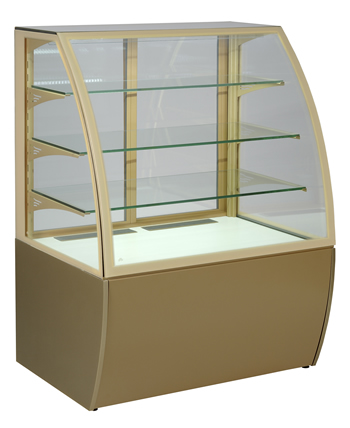 floor standing food display cabinets